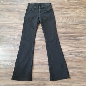 7 For All Mankind High Waist Bootcut Jeans. Sz 25